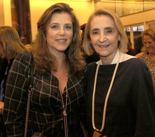Andréia Repsold e Laura Pederneiras