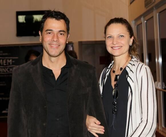 Cláudio Lins e Alexandra di Calafiori