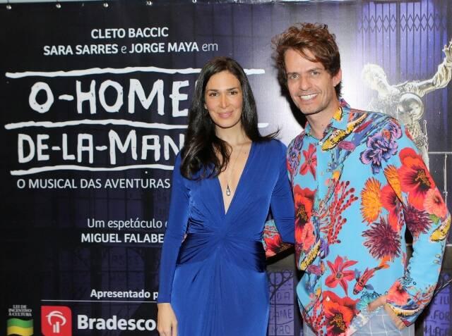 Sara Sarres e Cleto Baccic