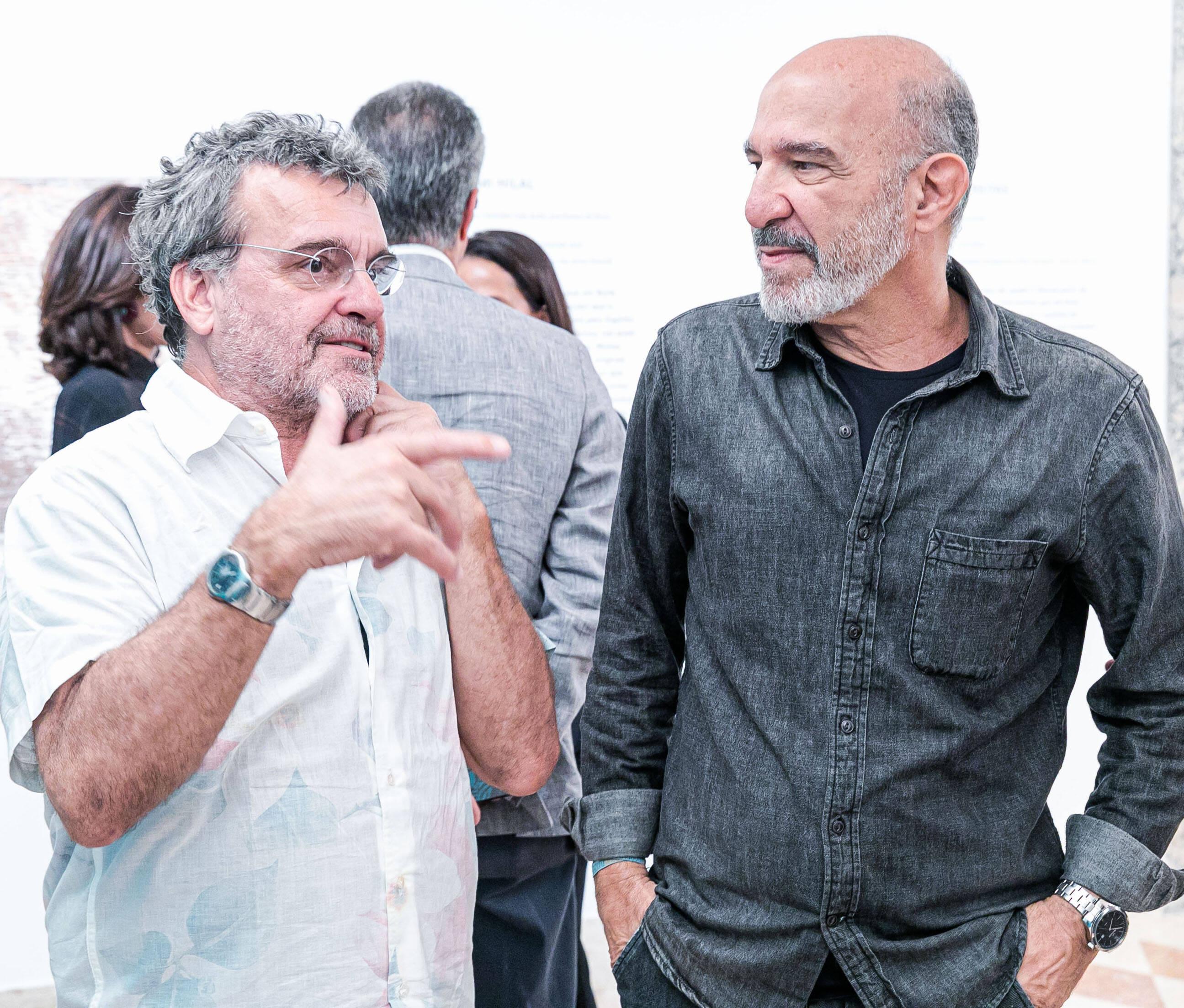 Antonio Mendel e Hilal Sami Hilal / Foto: Miguel Sá