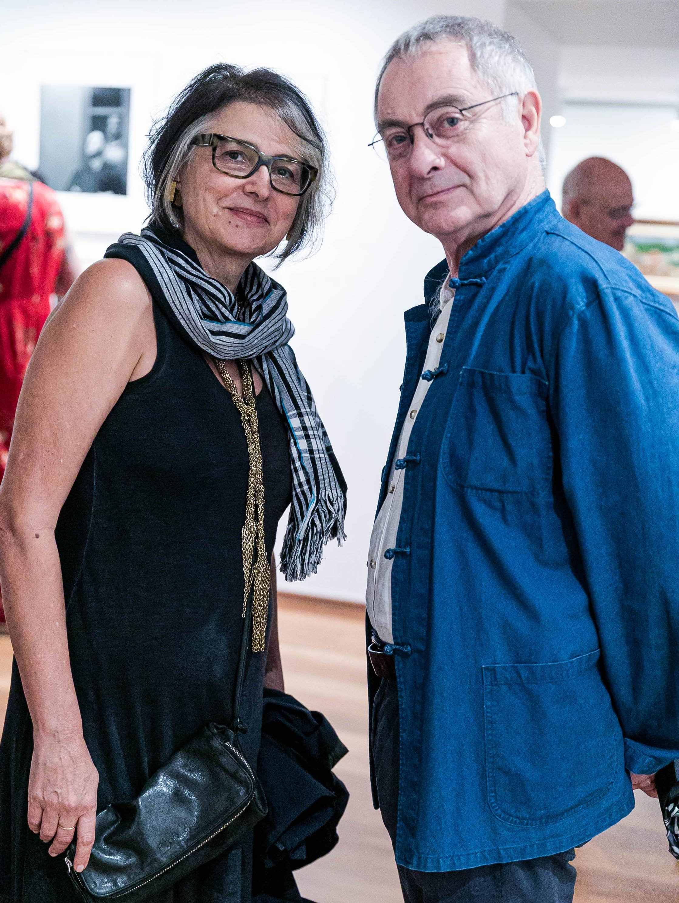 Beth Jobim e Adalberto Mecatelli / Foto: Miguel Sá