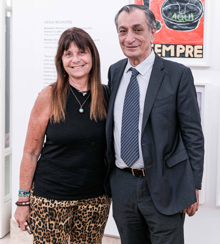 Chica Granchi e Antonio Cicero / Foto: Miguel Sá