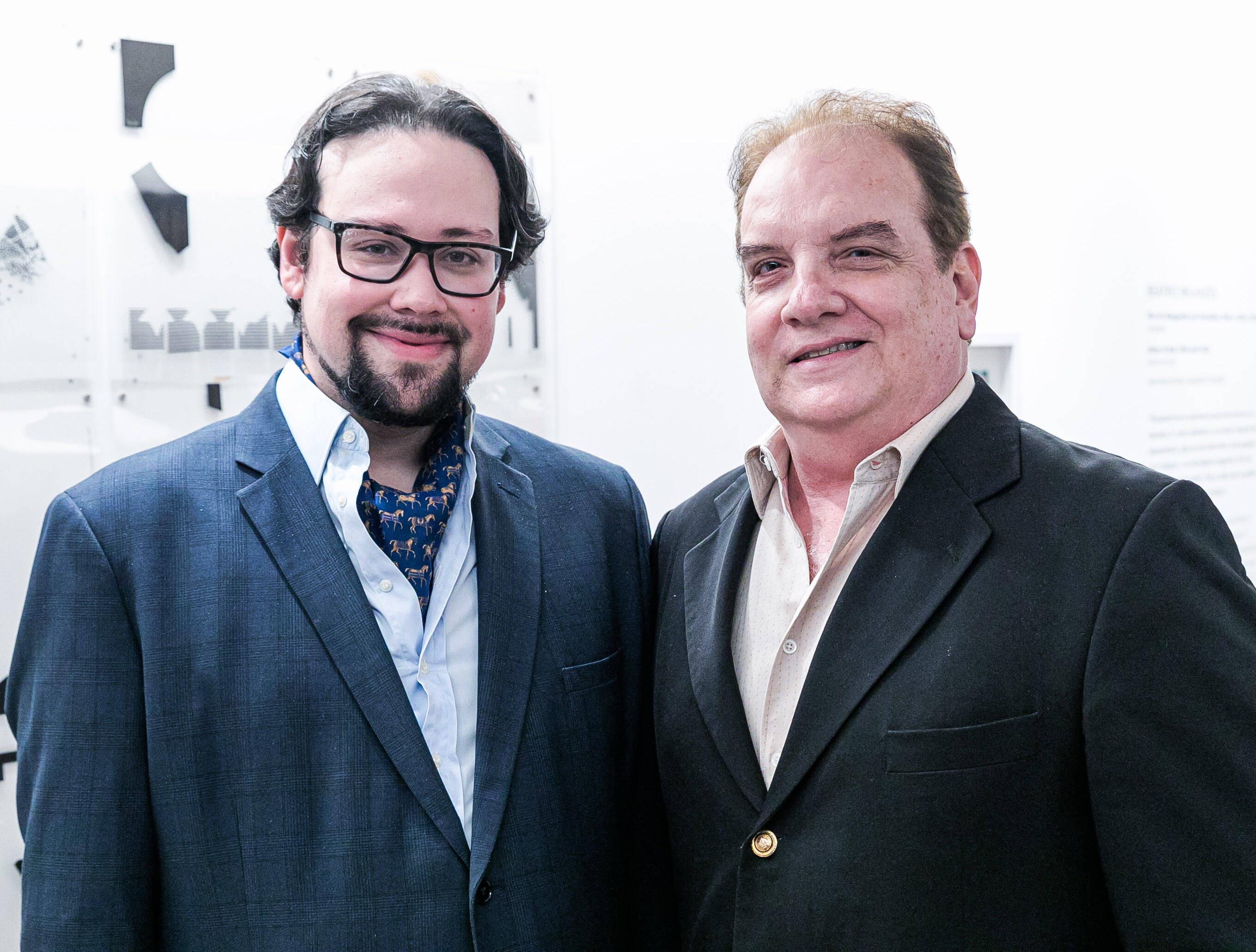 Diego Cosac e Rawlson de Thuin / Foto: Miguel Sá