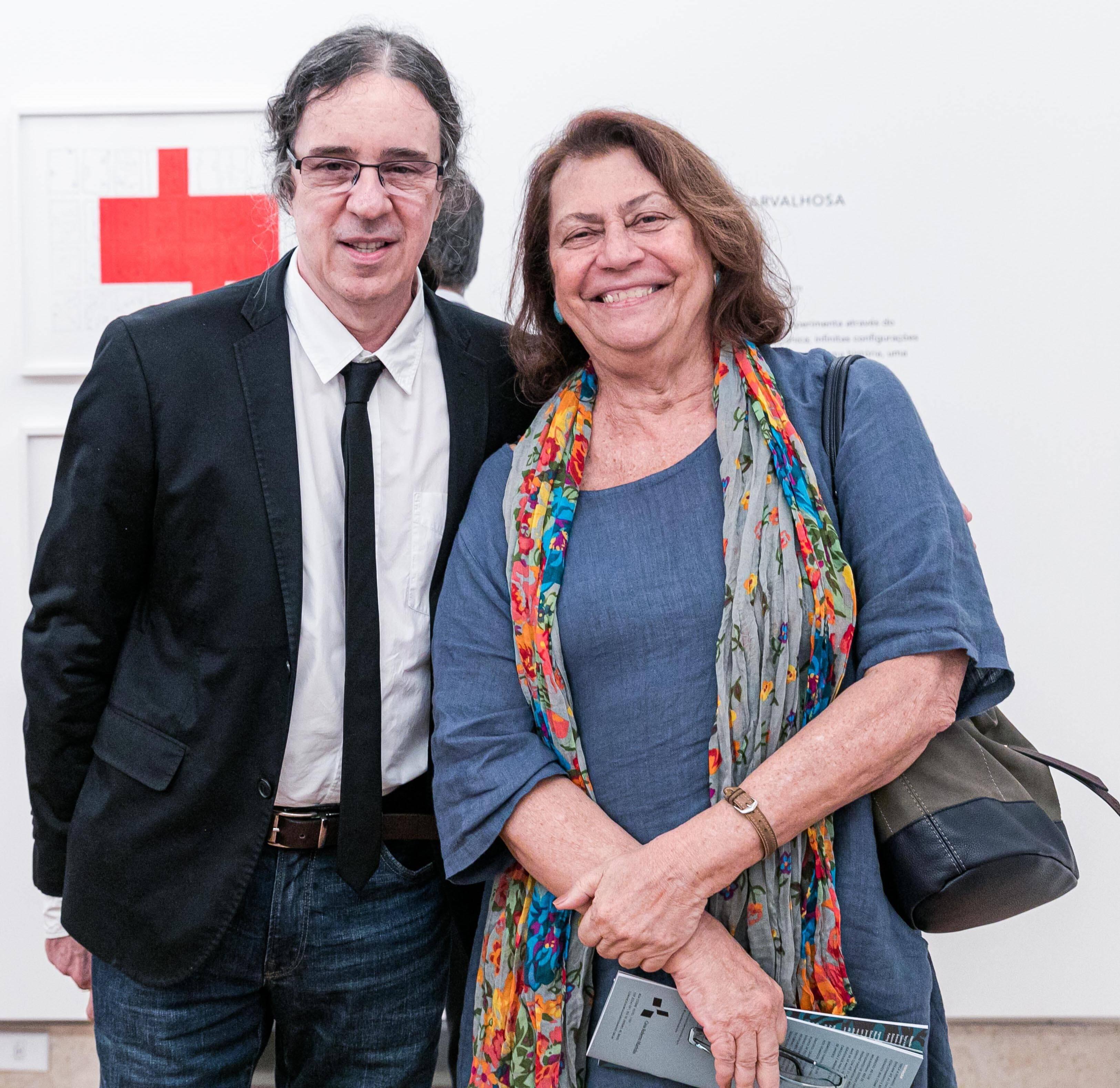 Geraldo Carneiro e Maria Machado / Foto: Miguel Sá