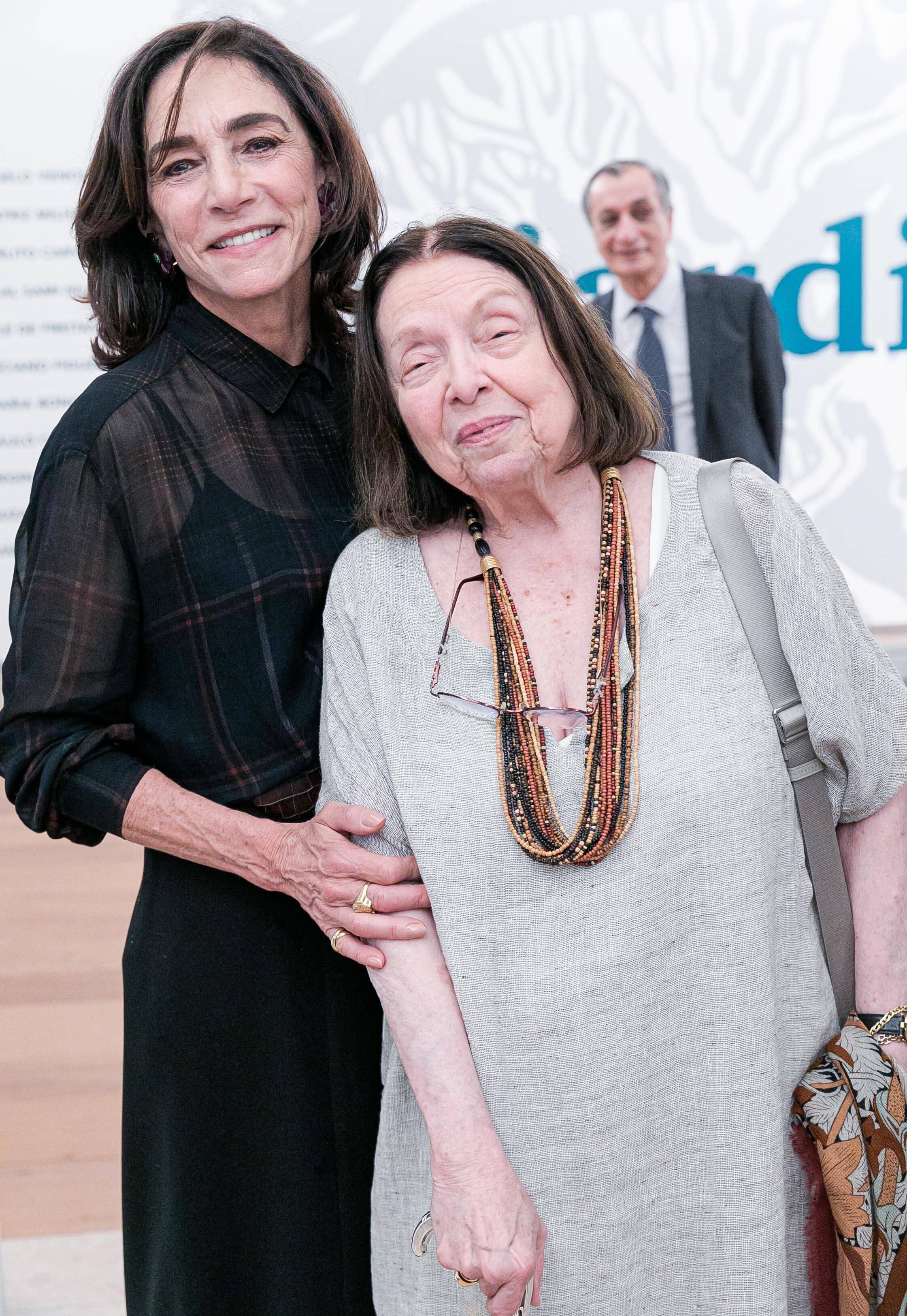 Gisela Marinho e Nelida Piñon / Foto: Miguel Sá