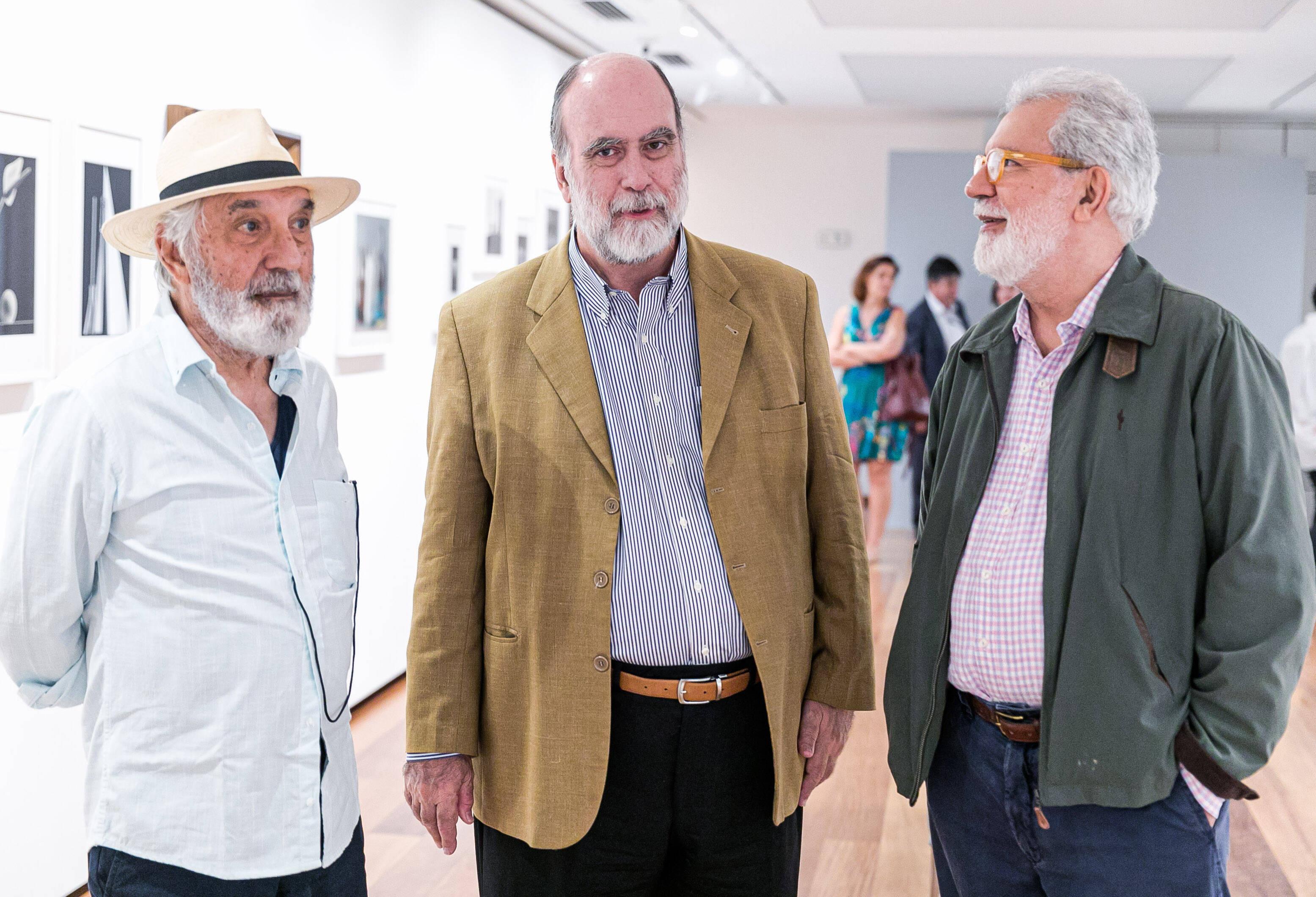 Glauco Campello, Vitor Botton e Glaucio Campelo / Foto: Miguel Sá