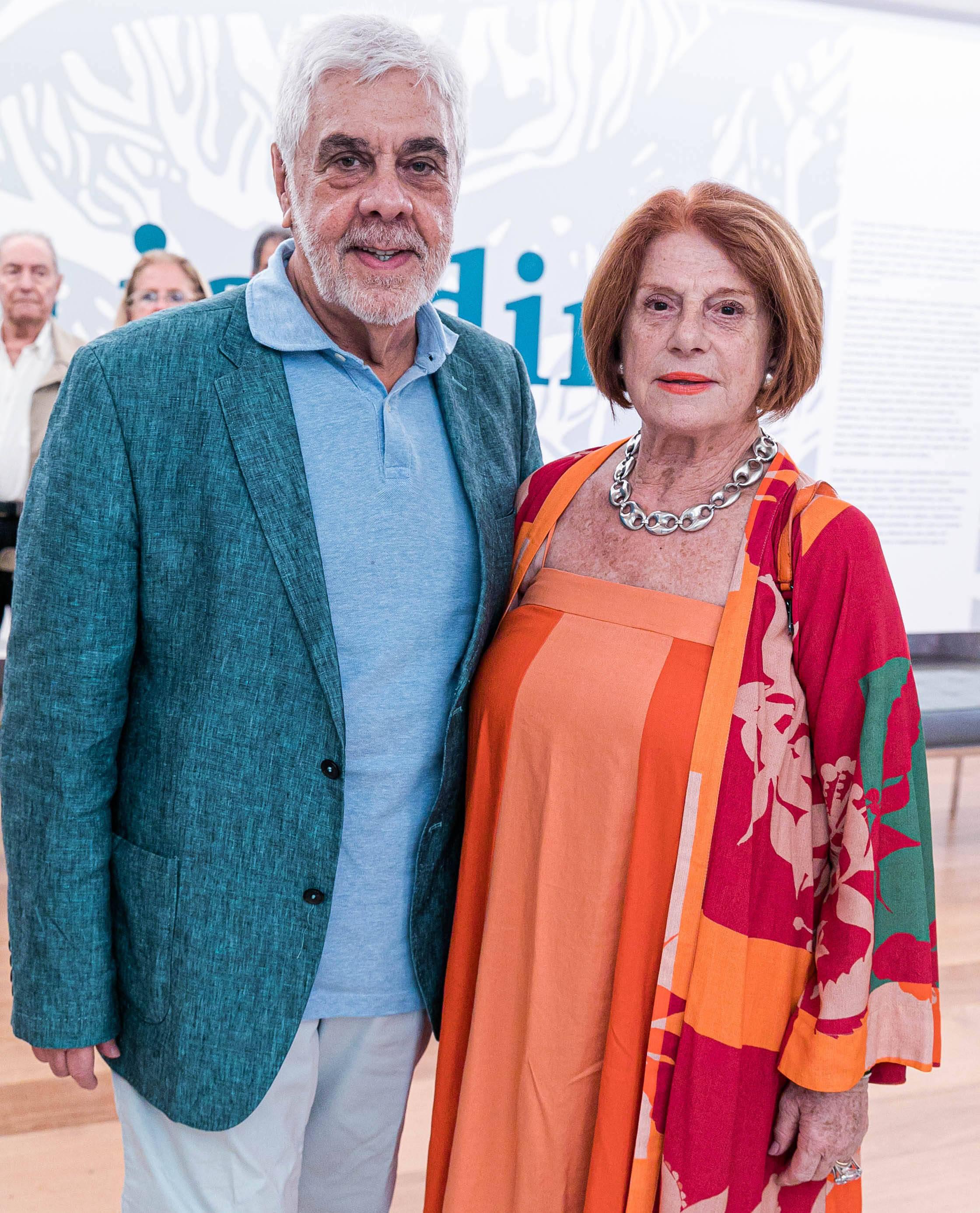 Luiz Henrique e Solange Fonseca / Foto: Miguel Sá