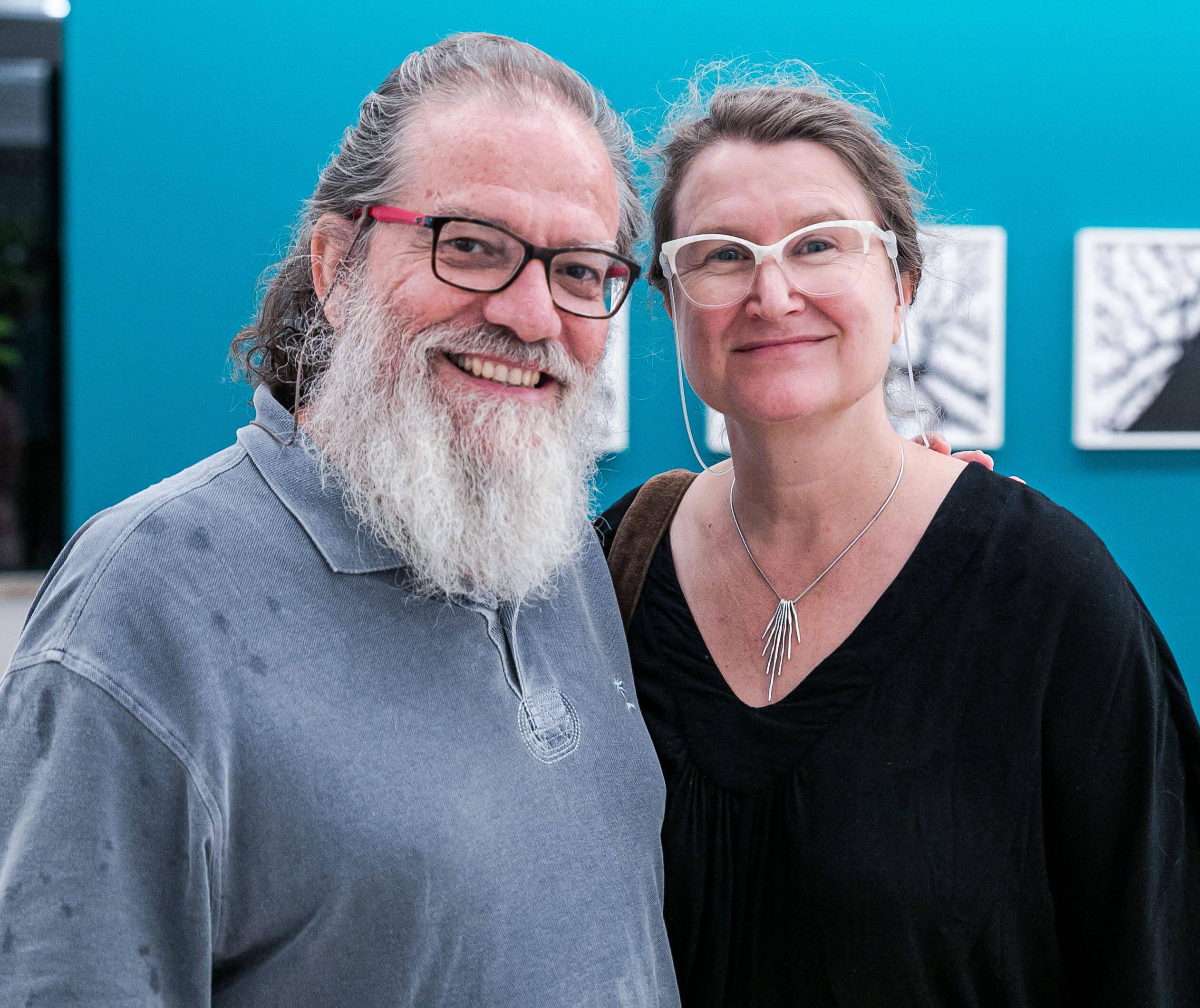 Luiz Guilherme Vergara e Jessica Gogan / Foto: Miguel Sá