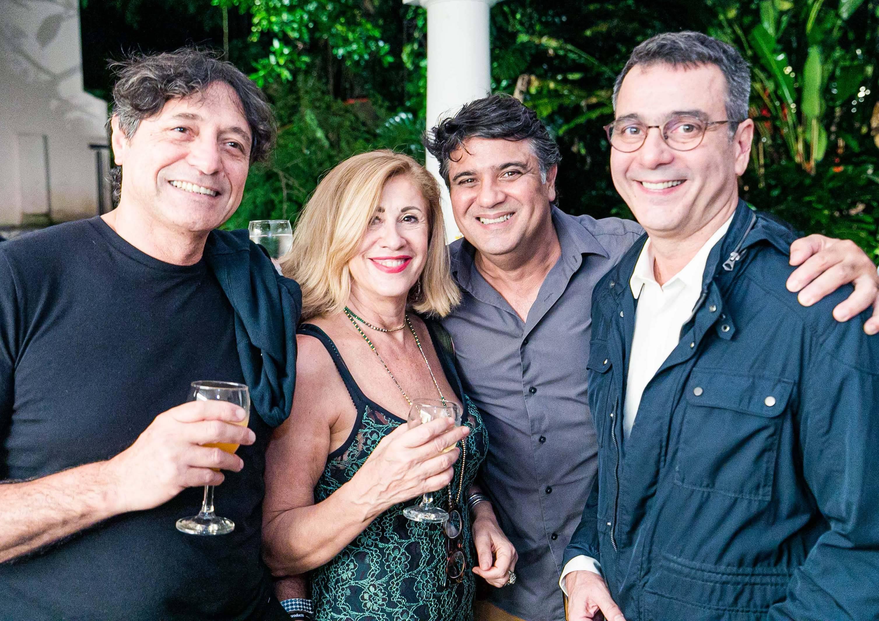 Mario Fante, Anita Brunello, Eduardo Soares e Mauro Saraiva / Foto: Miguel Sá