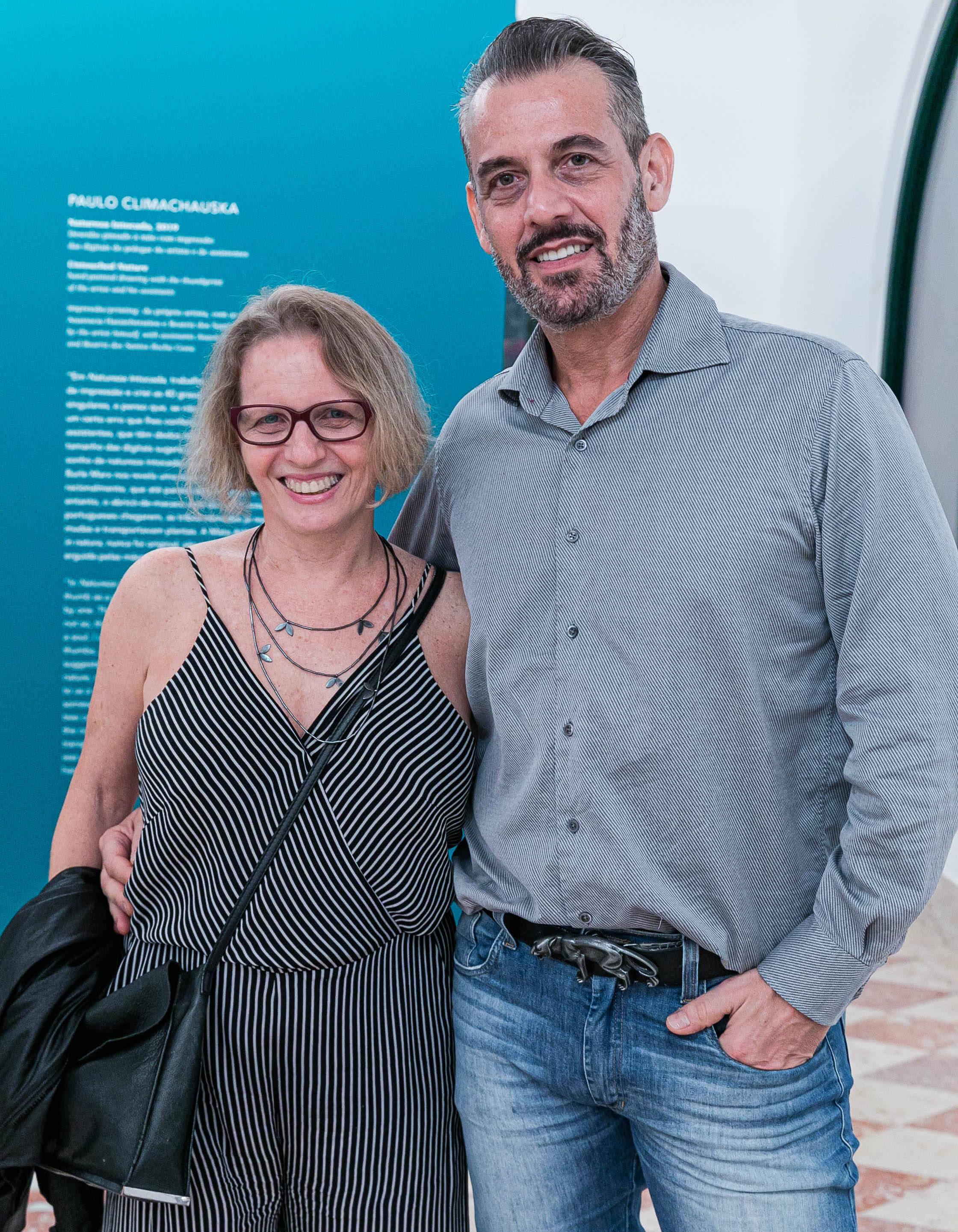 Nani Rubin e Walter Goldfarb / Foto: Miguel Sá
