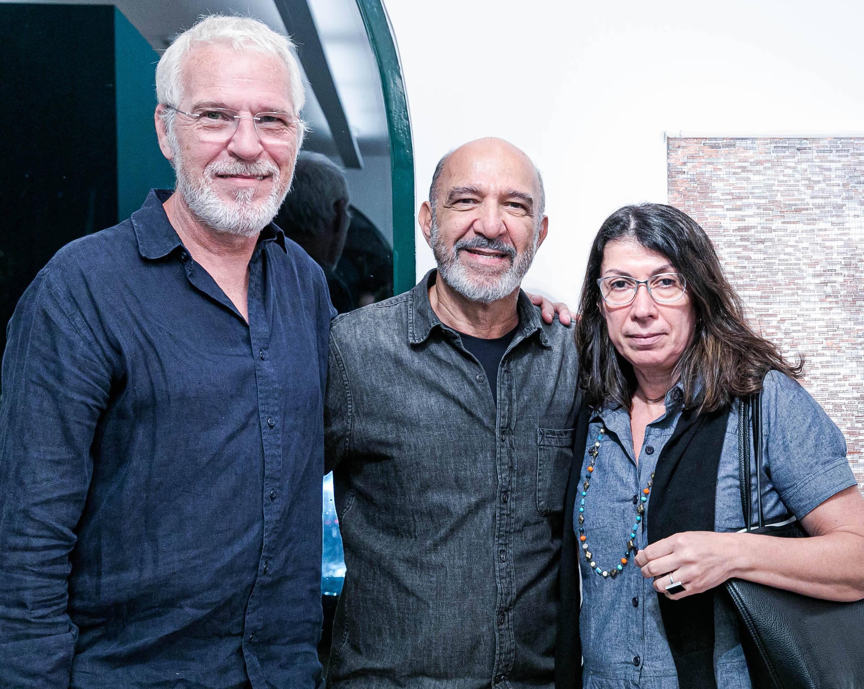 Paulo Climachauska , Hilal Sani Hilal e Anastacia Hatziefstratiou / Foto: Miguel Sá