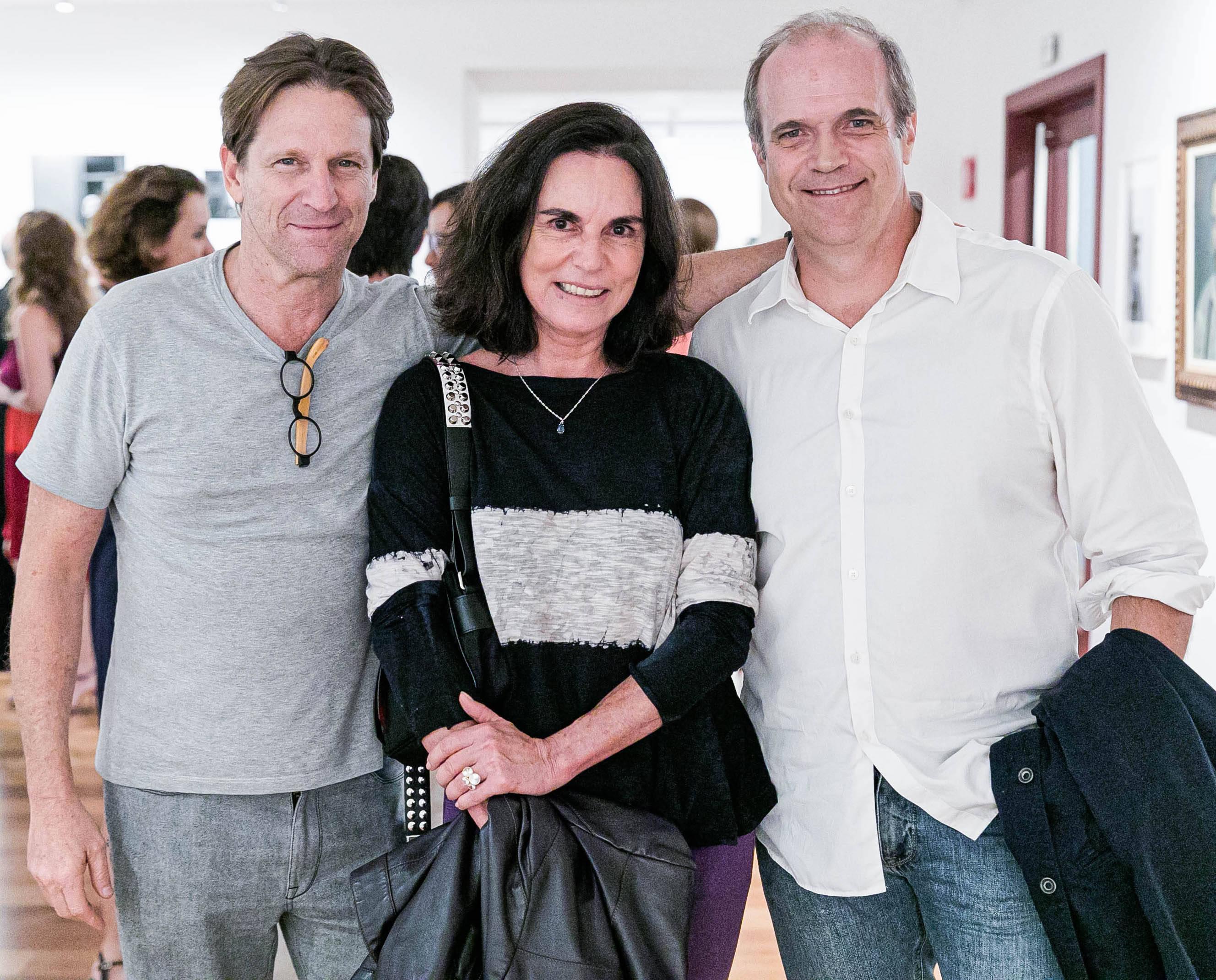 Ricardo Nauenberg, Márcia Braga e Luis de Queiros  / Foto: Miguel Sá