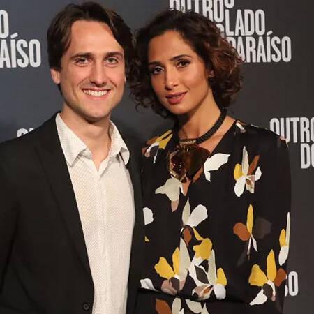 Camila Pitanga e Igor Angelkorte