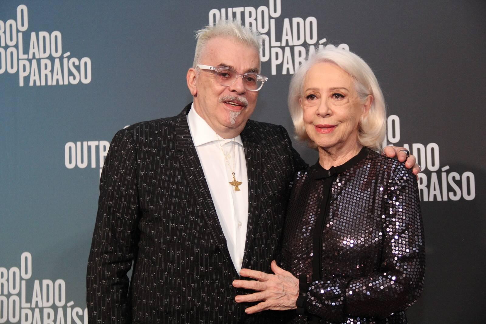 Walcyr Carrasco e Fernanda Montenegro