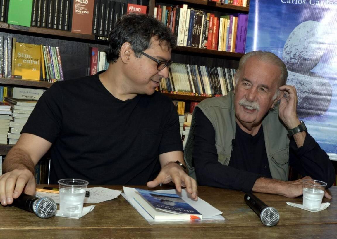 Carlos Cardoso e Carlos Vergara /Foto: Cristina Granato