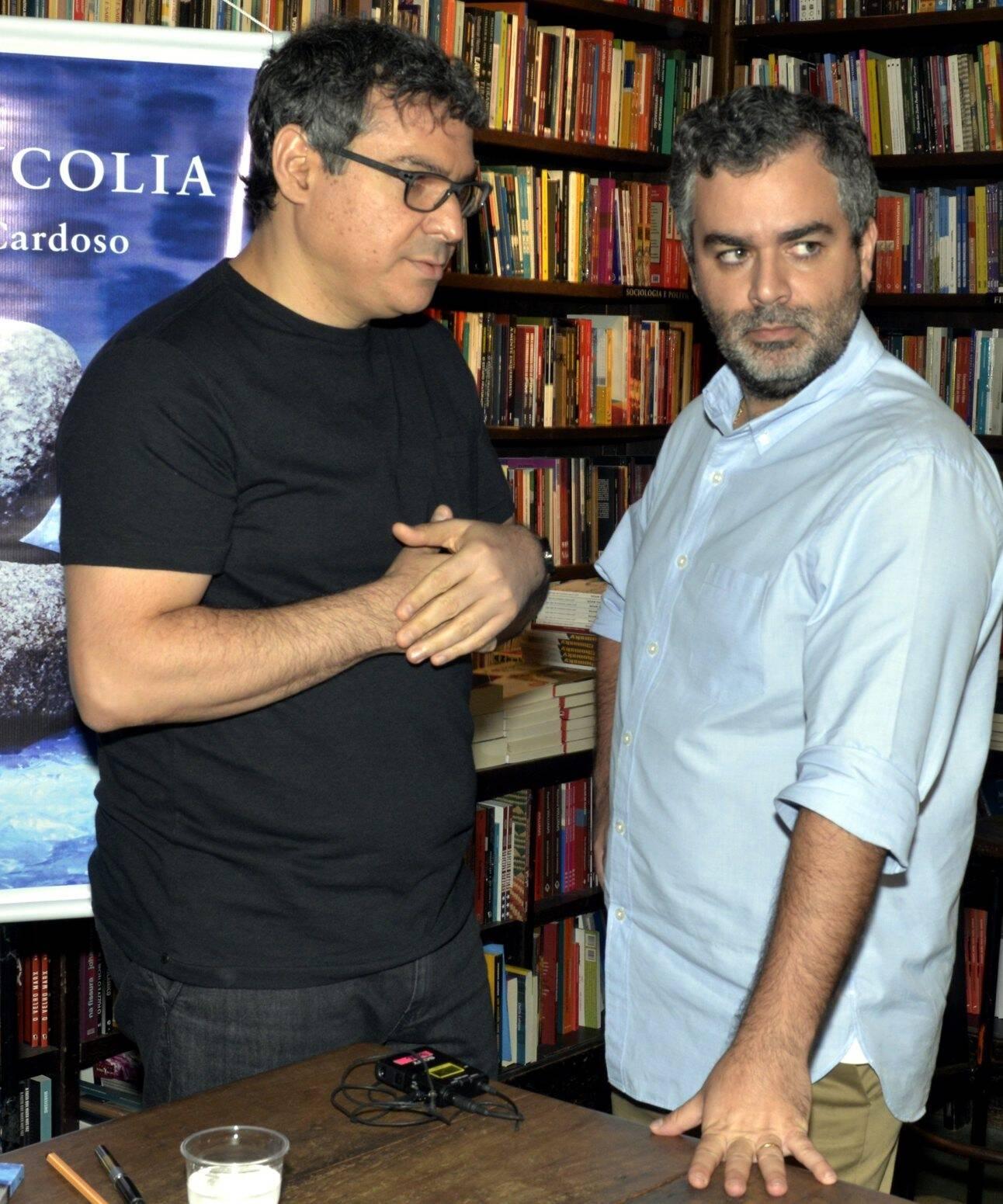 Carlos Cardoso e Carlos Andreazza /Foto: Cristina Granato