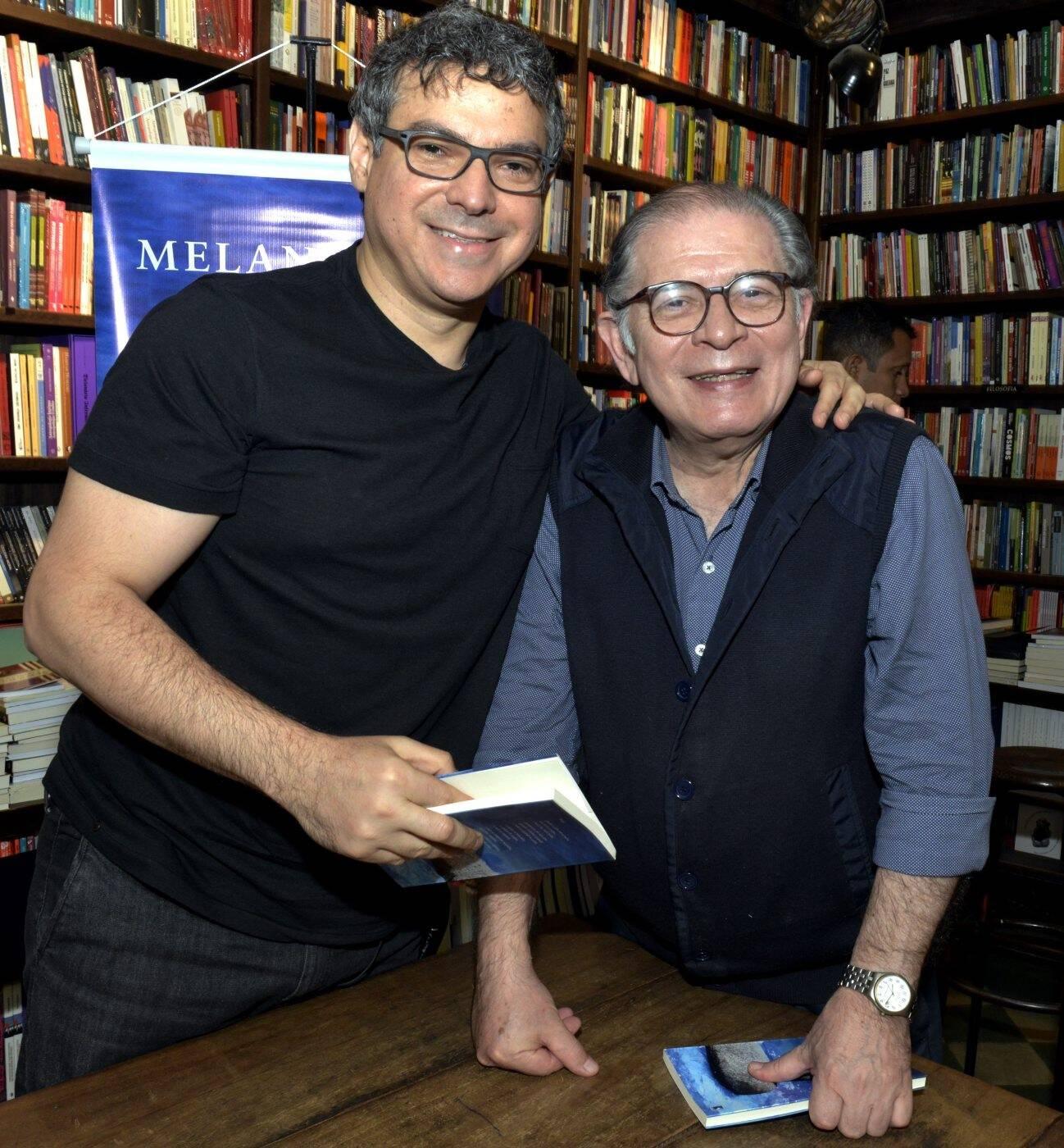 Carlos Cardoso e Luciano Figueiredo /Foto: Cristina Granato