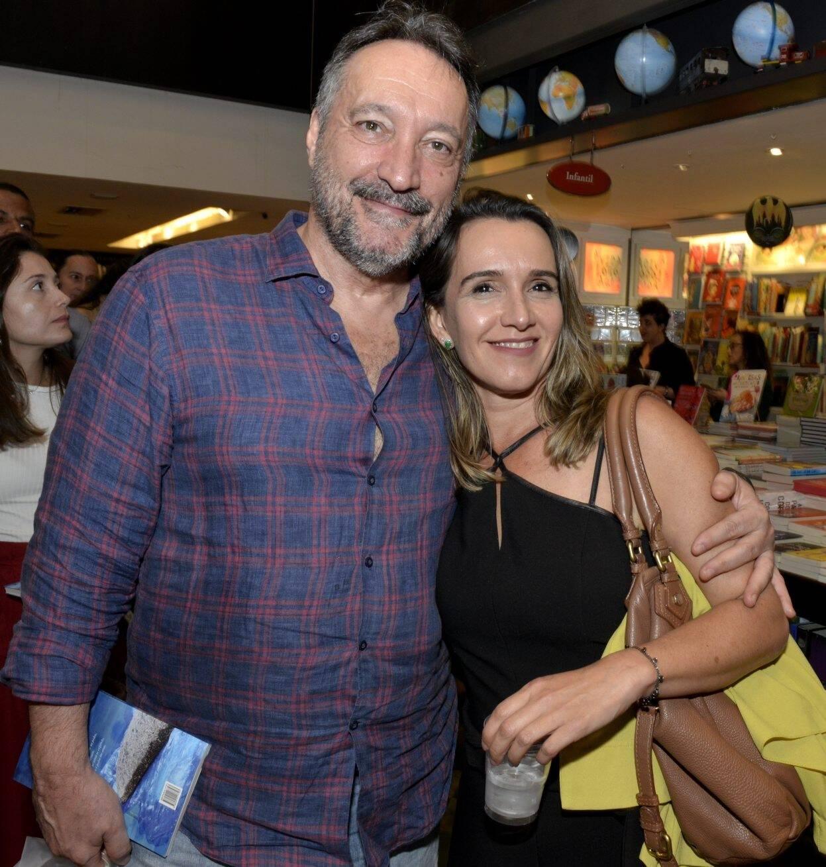 Marcos Micelli e Liliane Ribeiro  /Foto: Cristina Granato