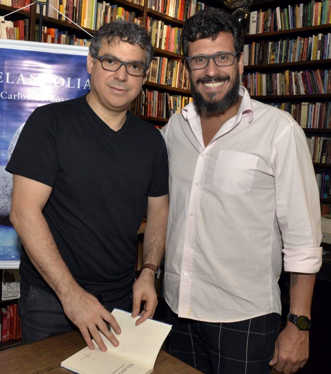 Carlos Cardoso e  Renatro Pellizari /Foto: Cristina Granato