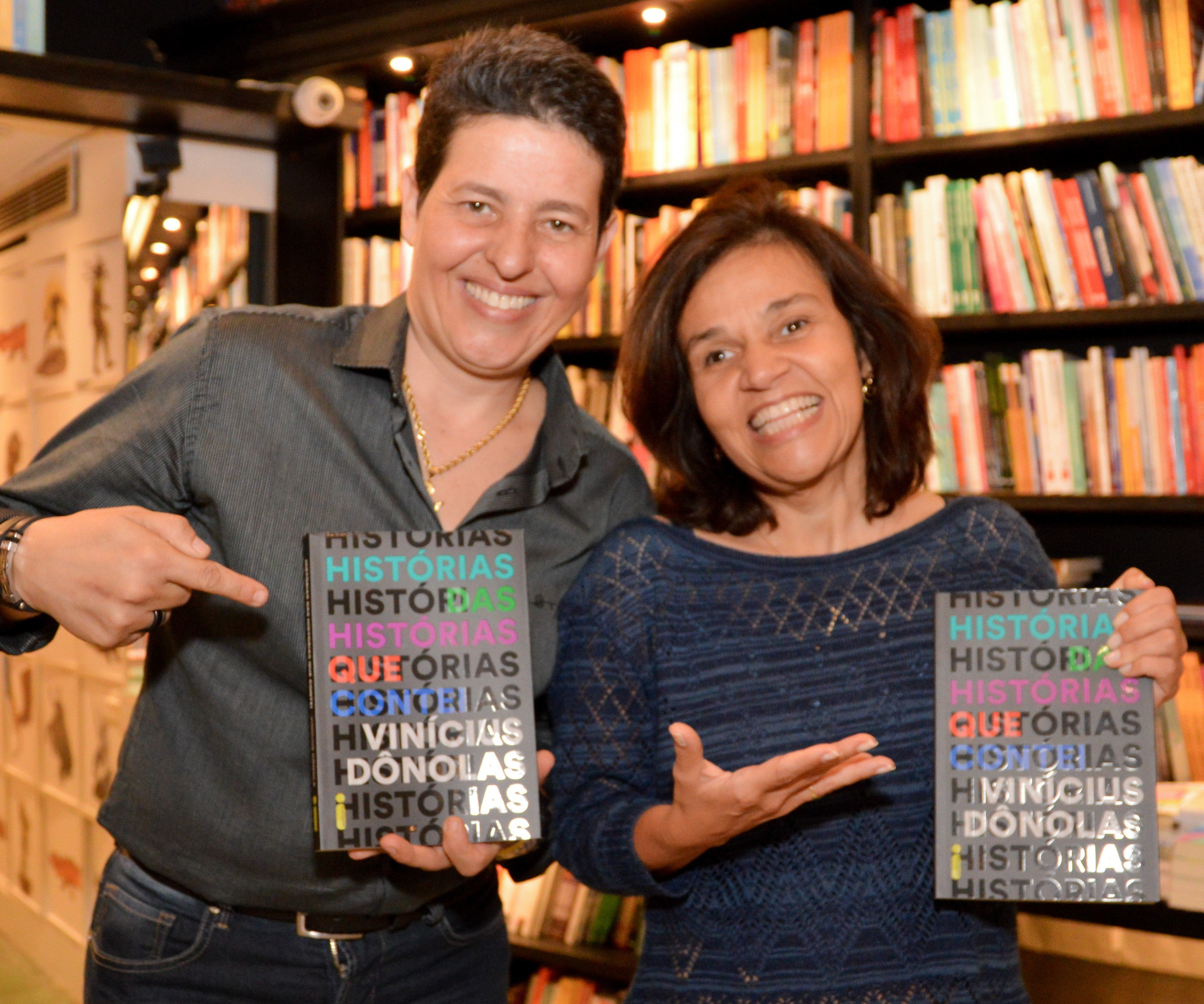 Cláudia Rodrigues e Adriane Botelho /Foto: Rafaela Cassiano - Editora Intrínseca