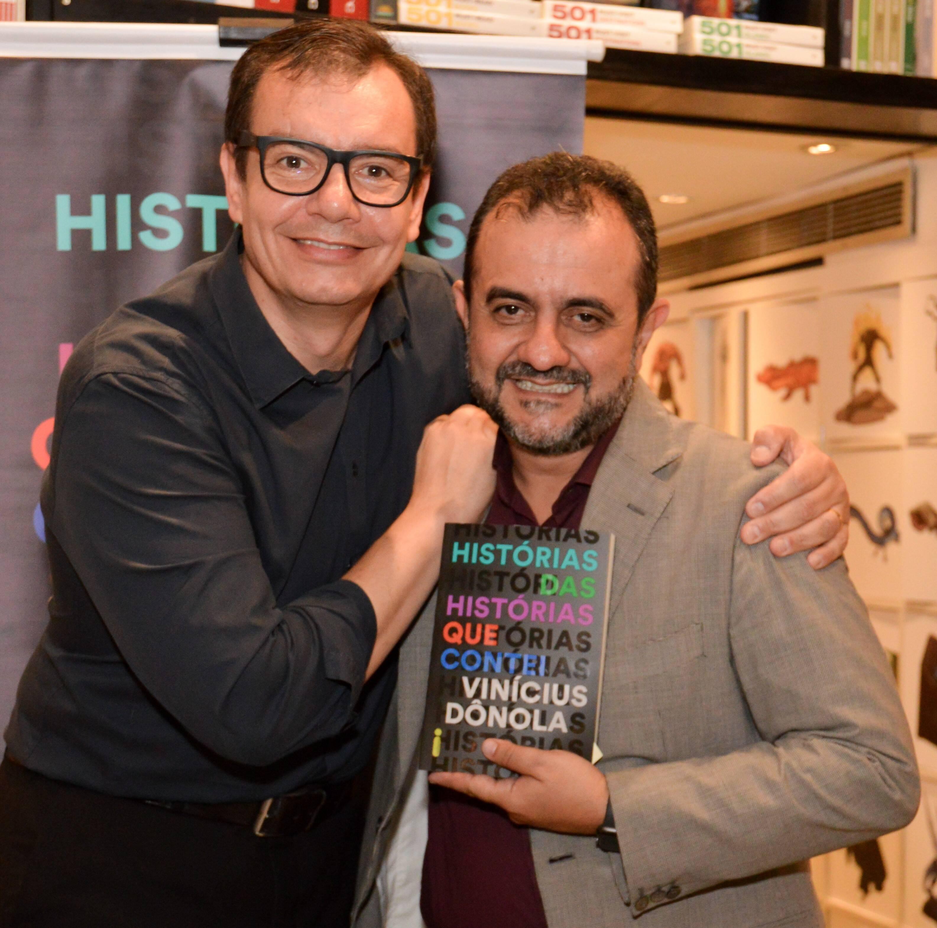 Vinícius Dônola e Sérgio Maciel /Foto: Rafaela Cassiano - Editora Intrínseca