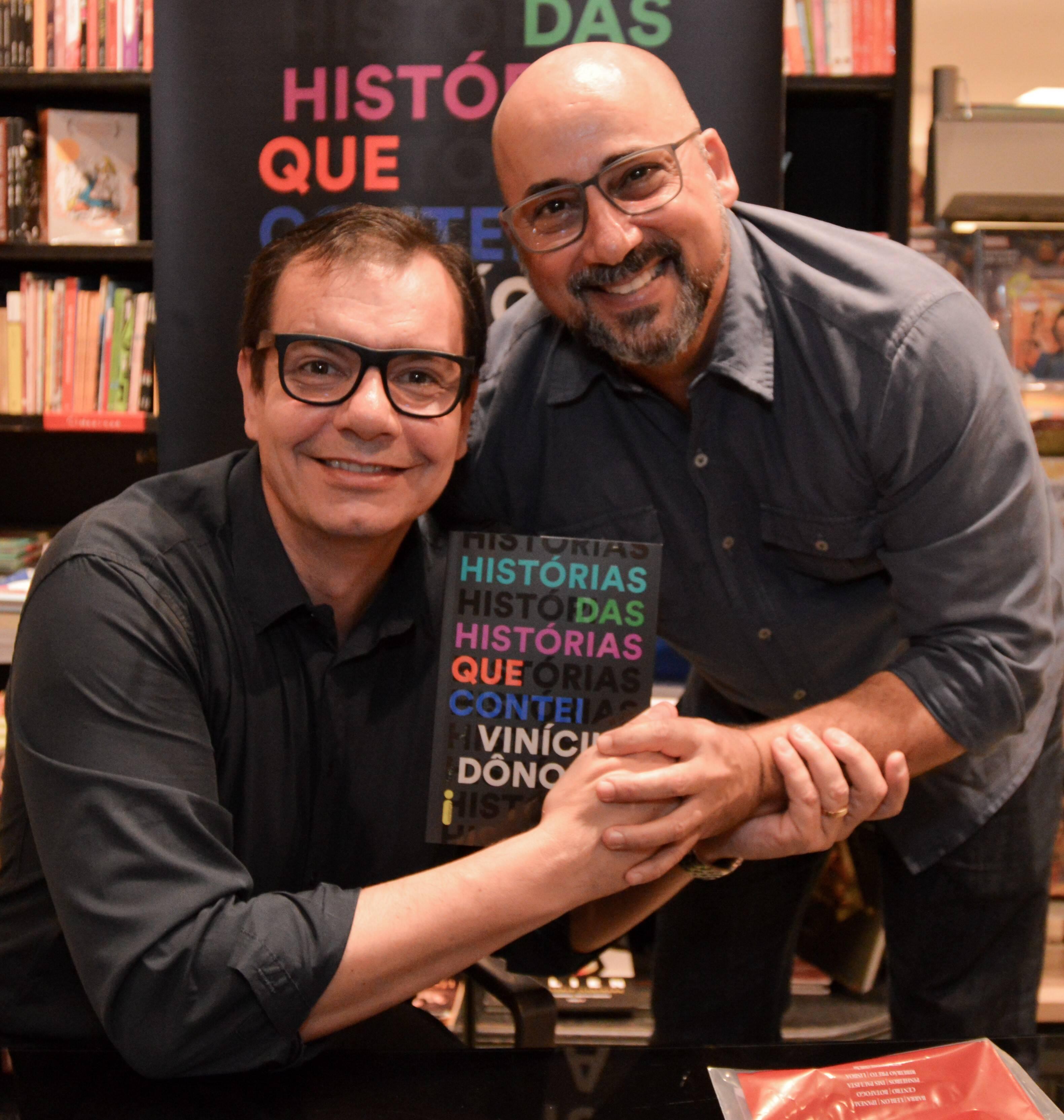Vinícius Dônola e Guilherme Azevedo /Foto: Rafaela Cassiano - Editora Intrínseca