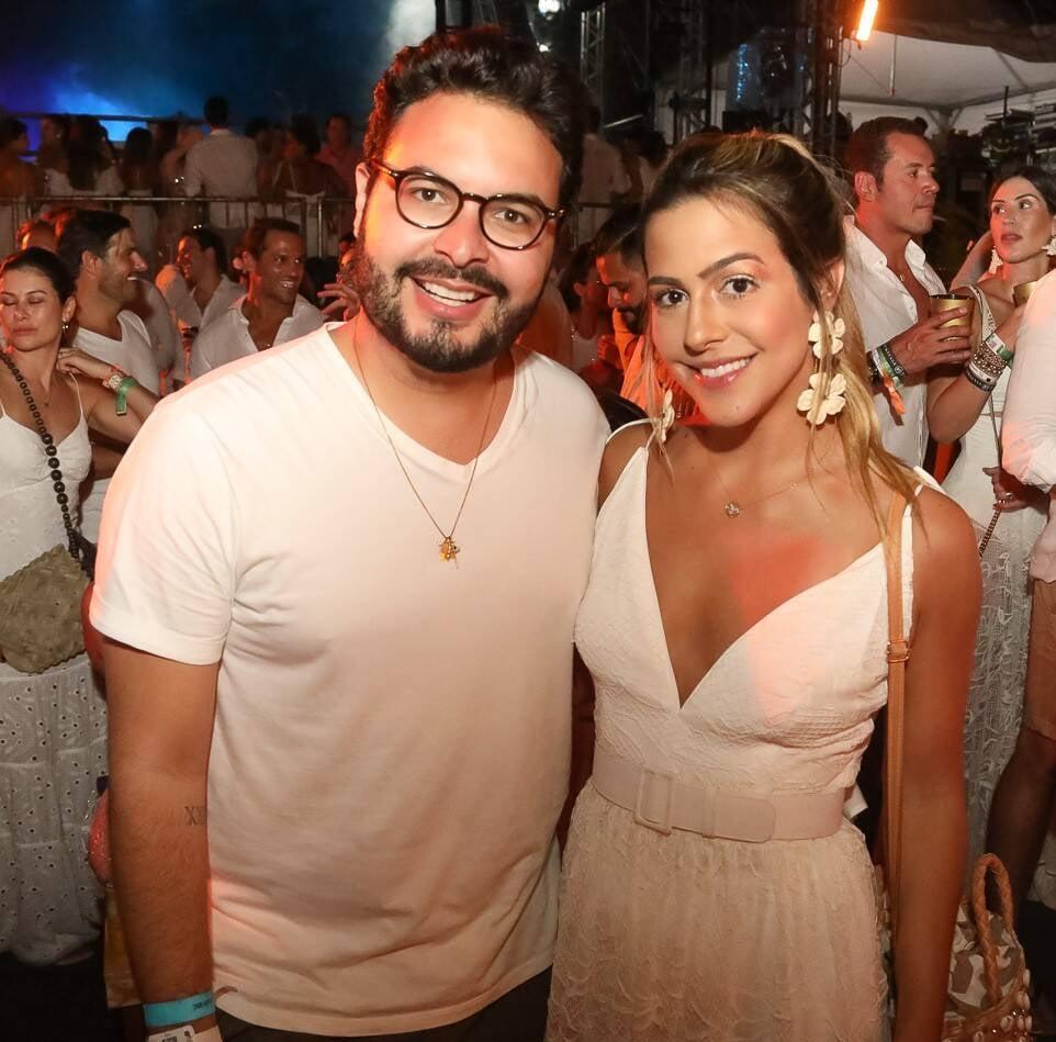 Vini Machado e Fernanda Brandão /Foto: Ali Karakas e Flashbang