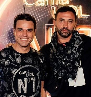 Beto Pacheco e Riccardo Tisci /Foto: Leca Novo