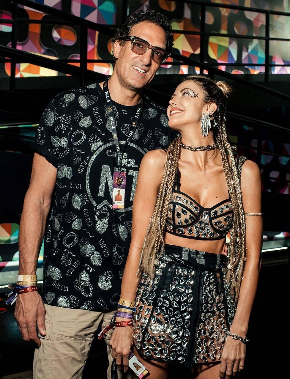 Rony Seikaly e Martha Graeff /Foto: Leca Novo