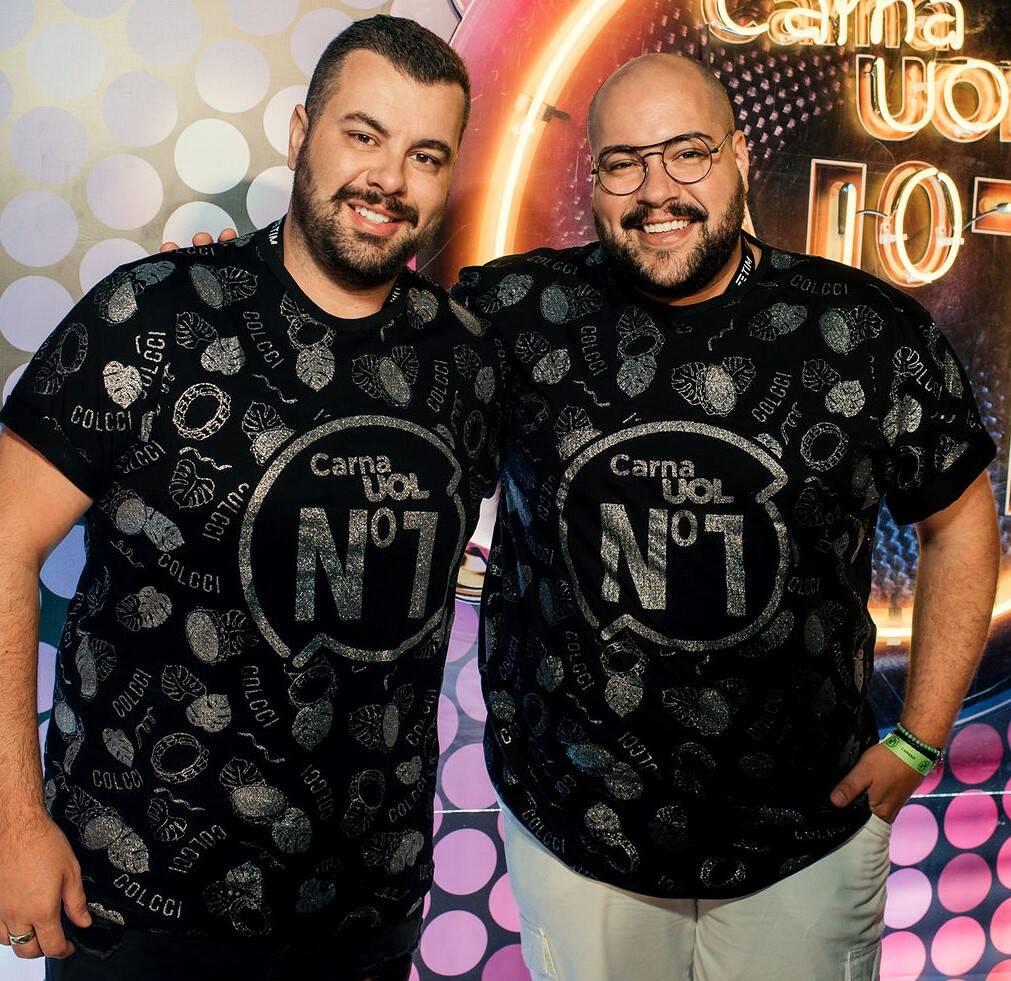 Tiago Abravanel e Fernando Poli /Foto: Leca Novo