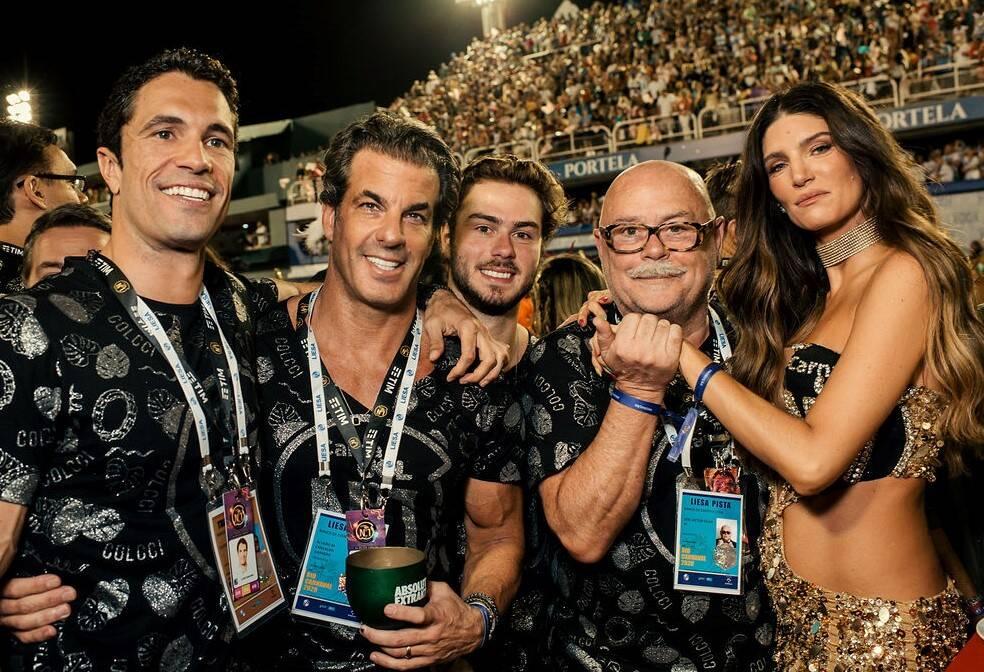 Flávio Sarahyba, Álvaro Garnero, Antonio Oliva, José Victor Oliva e Lou Montenegro /Foto: Leca Novo