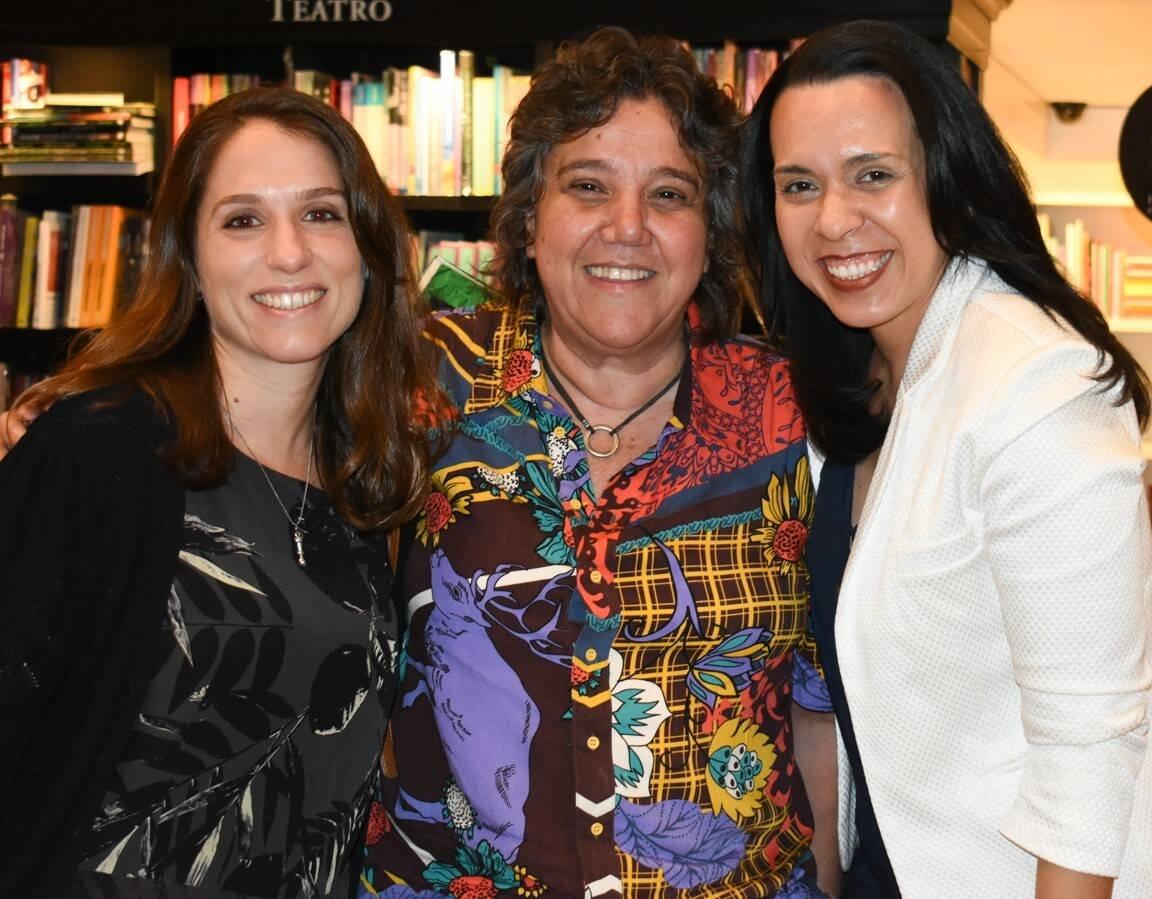 Clara Mendes, Karla Redig e Renata Nogueira /Foto: Cristina Lacerda