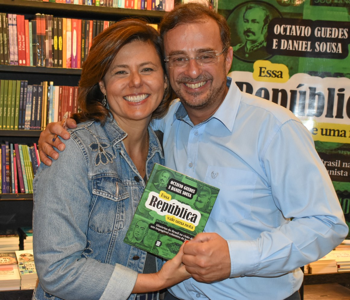 Deborah Feijo e Octavio Guedes /Foto: Cristina Lacerda