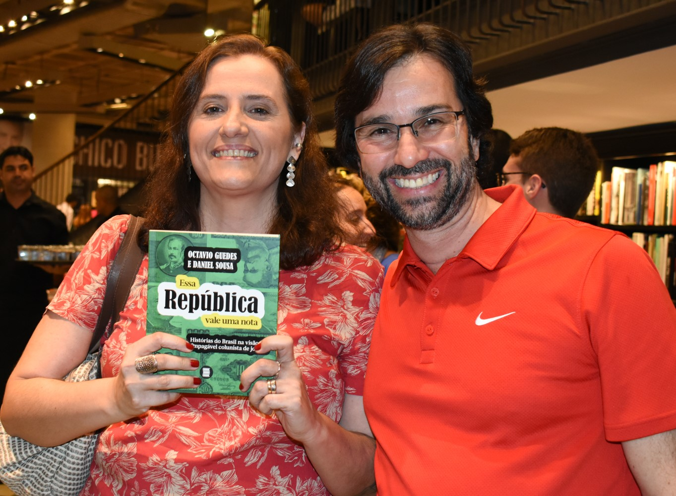 Fernanda Portugal e Flavio Pessoa /Foto: Cristina Lacerda