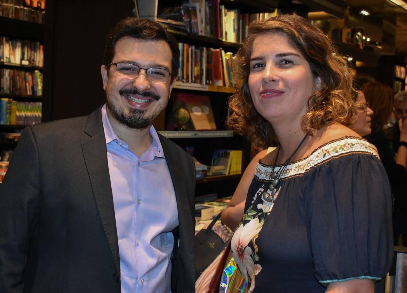 Guilherme Amado e Viviane Cohen /Foto: Cristina Lacerda