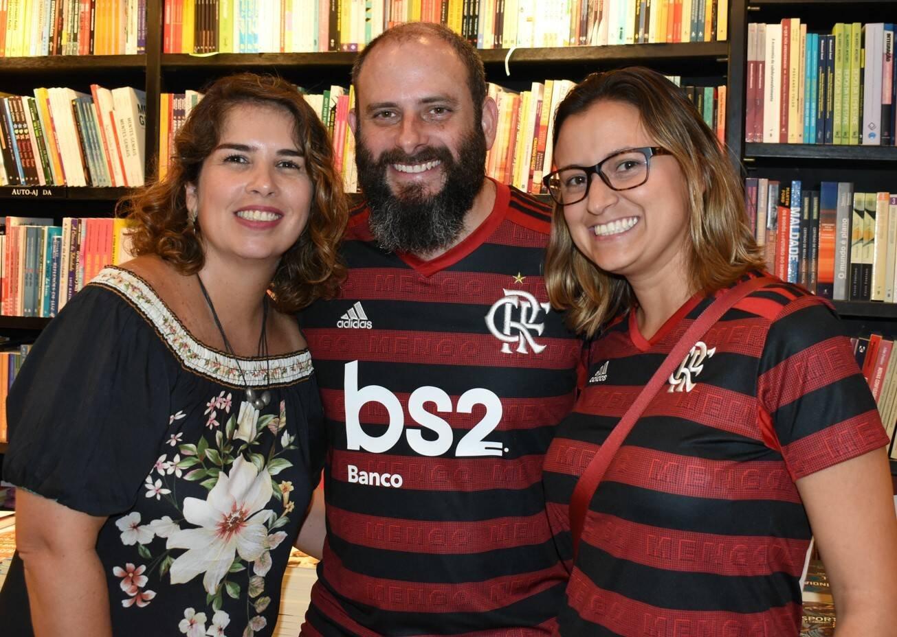 Viviane e Daniel Cohen com Ianna Silva /Foto: Cristina Lacerda