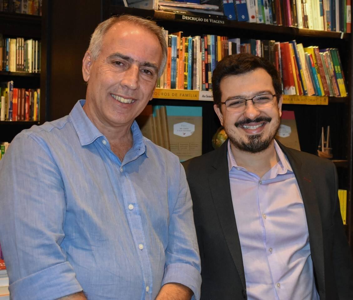 Luiz Cerqueira e Guilherme Amado /Foto: Cristina Lacerda