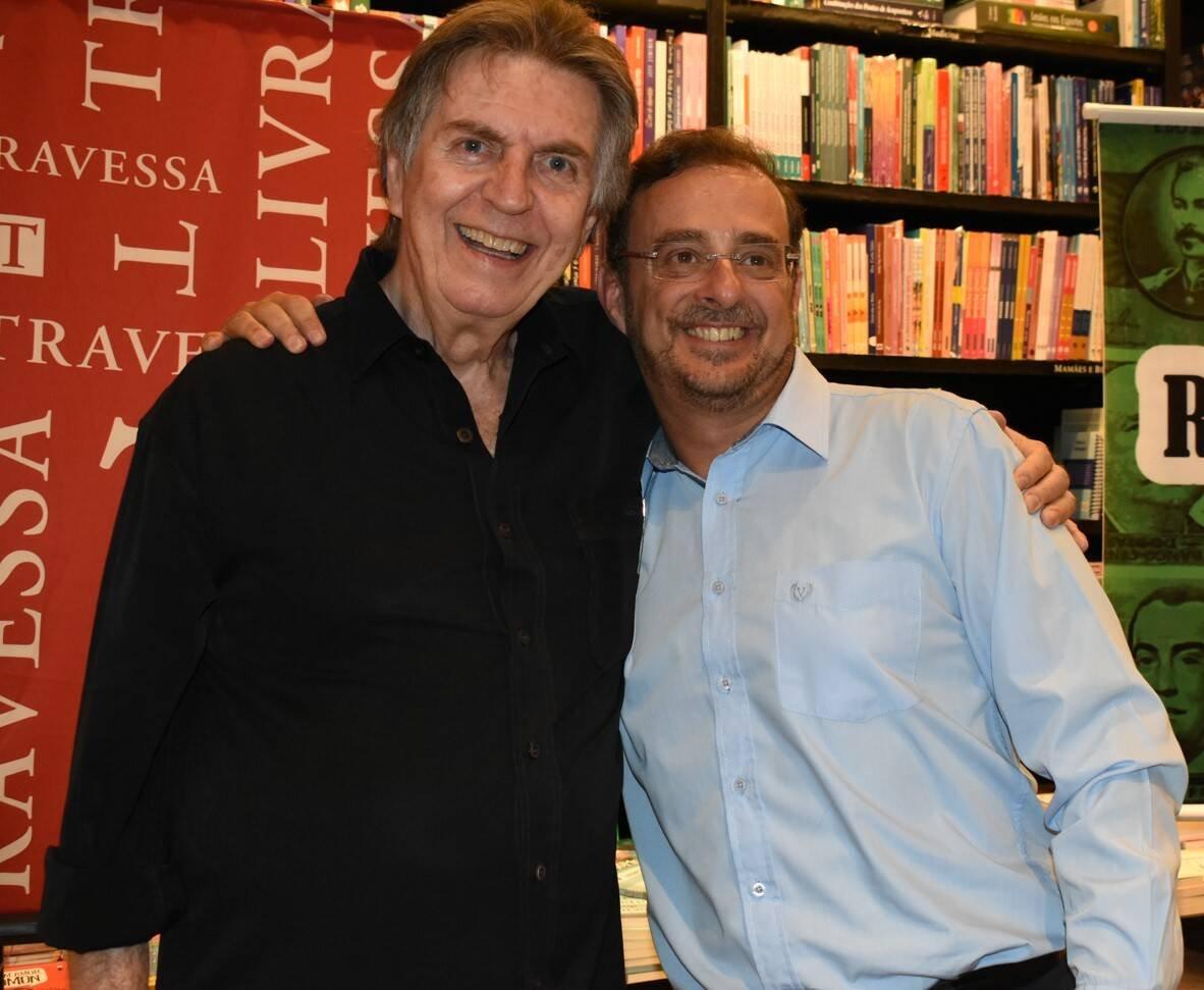 Maurício Menezes e Octavio Guedes /Foto: Cristina Lacerda