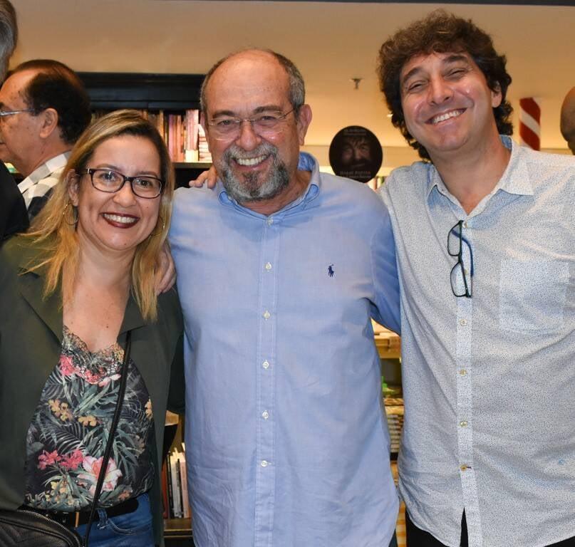 Patricia Ingo, Bruno Thys e Luiz Andrealzer /Foto: Cristina Lacerda