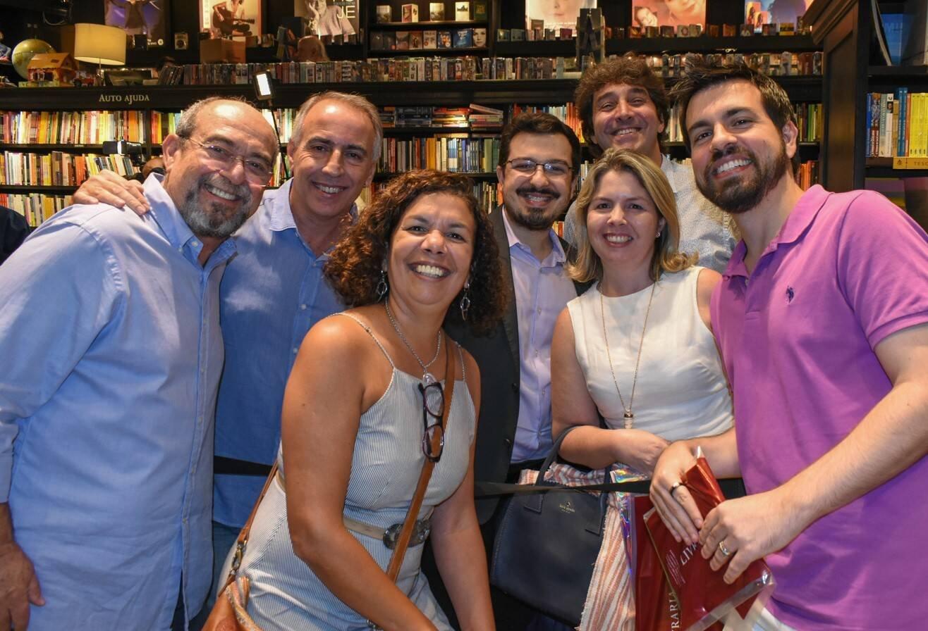 Bruno Thys, Luiz Cerqueira, Denise Ribeiro, Guilherme Amado, Flavia Junqueira, Luiz Andrealzer e Leonardo Bruno /Foto: Cristina Lacerda