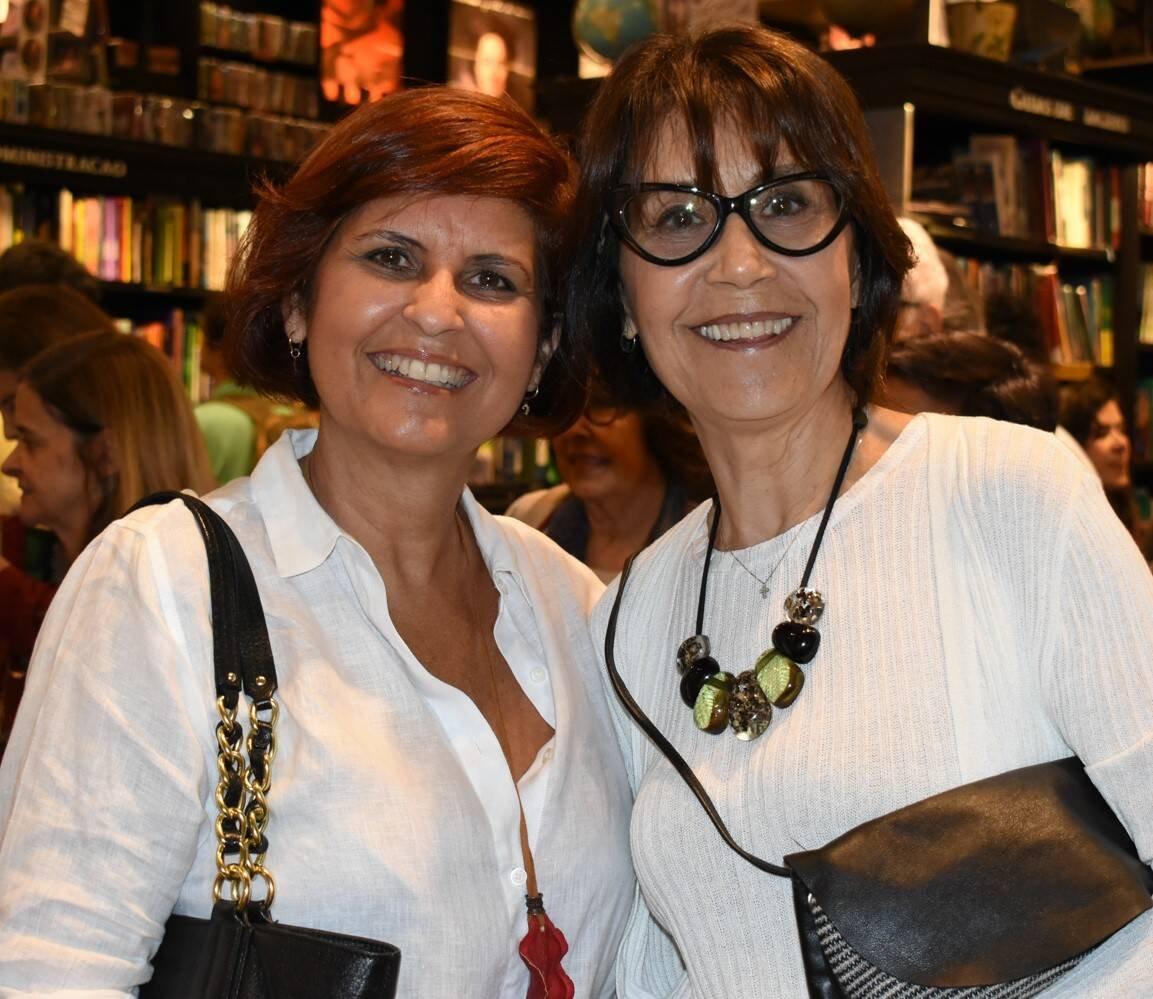 Cecília e Marlene Rodriguez /Foto: Cristina Lacerda