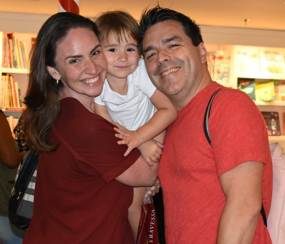 Cecília Flesch, Duda e Rafael Cunha /Foto: Cristina Lacerda