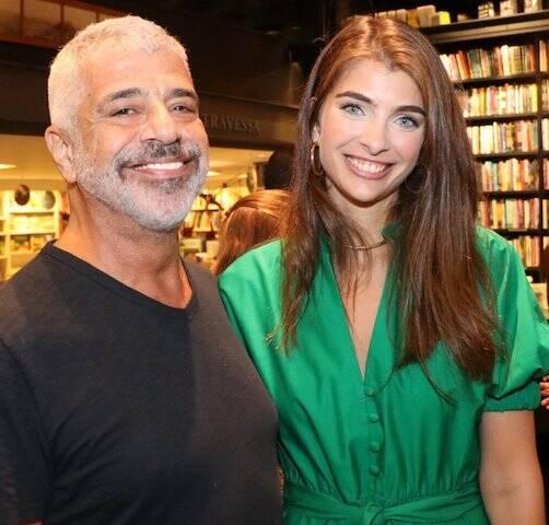 Lulu Santos e Maria Frering