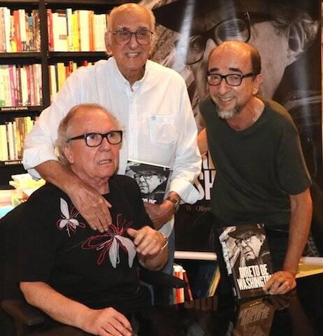 Washington Olivetto, Zuenir Ventura e Joaquim Ferreira dos Santos