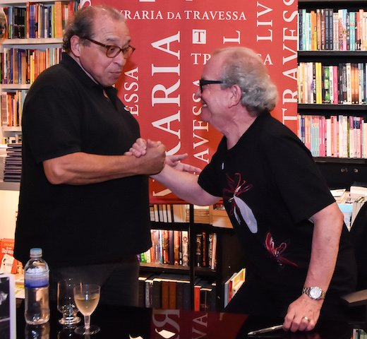 Ruy Castro e Washington Olivetto