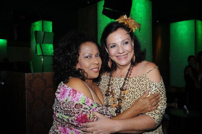 Eliana Pittman e Claudia Fialho