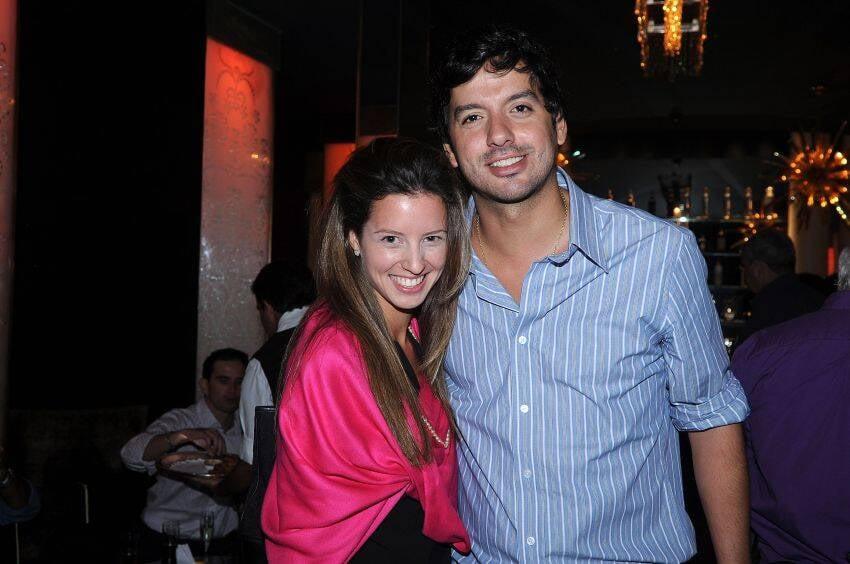 Luiza e Ricardo Dale. Ele que faz as sextas mais legais alí do Bar do Copa