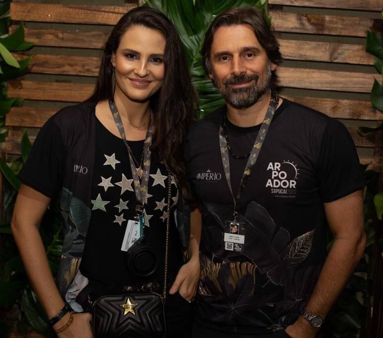 Fernanda Tavares e Murilo Rosa   /Foto: Thiago Cardoso