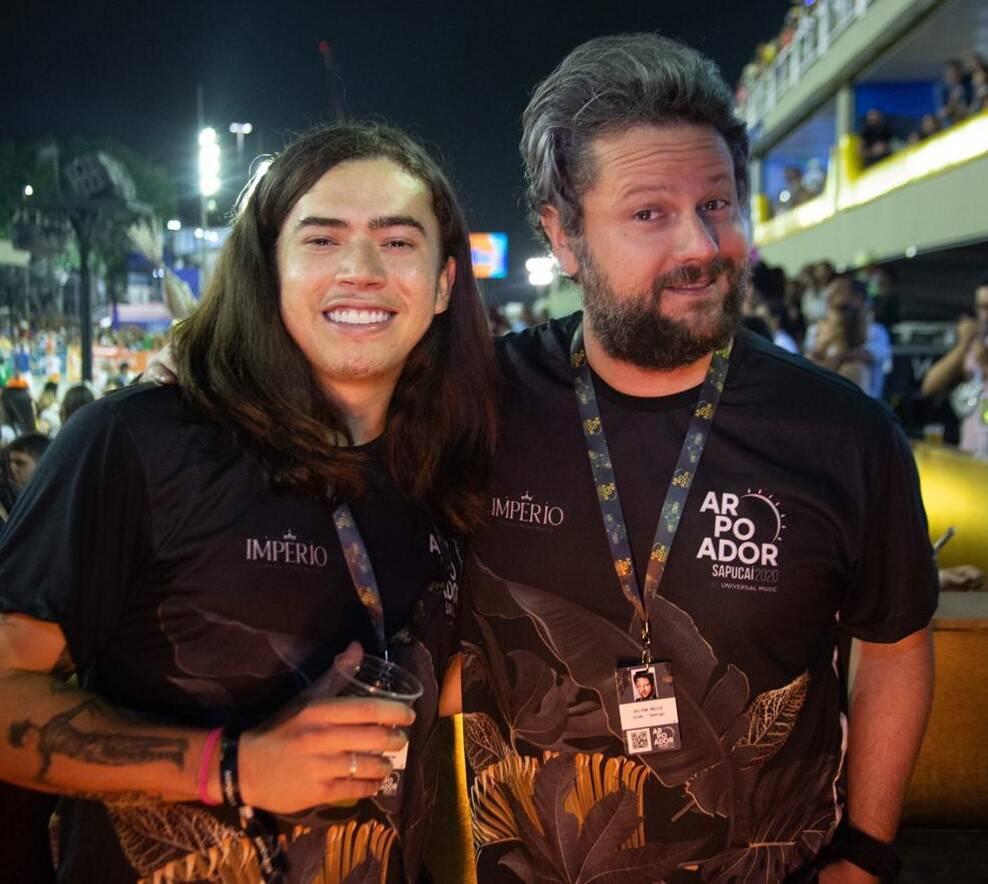 Whinderson Nunes e Selton Mello  /Foto: Thiago Cardoso