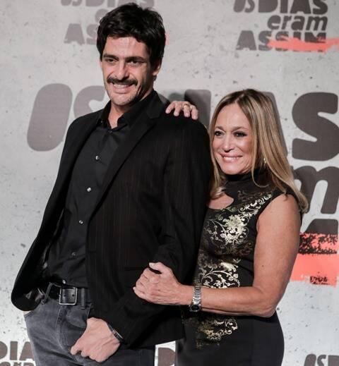 Júlio Machado e Suzana Vieira